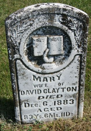 CLAYTON, MARY - Taylor County, Iowa | MARY CLAYTON