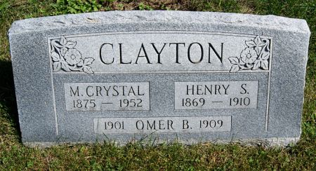 SMITH CLAYTON, MARY CRYSTAL - Taylor County, Iowa | MARY CRYSTAL SMITH CLAYTON