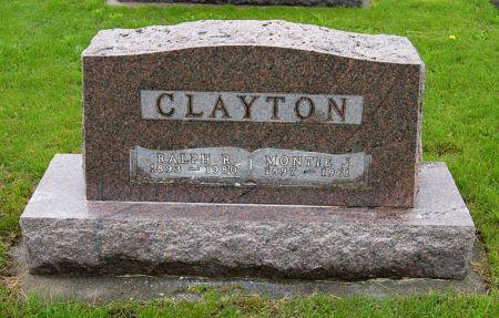 HOLLAND CLAYTON, MONTIE JOSEPHINE - Taylor County, Iowa | MONTIE JOSEPHINE HOLLAND CLAYTON