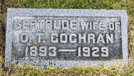 SHAW COCHRAN, GERTRUDE - Taylor County, Iowa | GERTRUDE SHAW COCHRAN