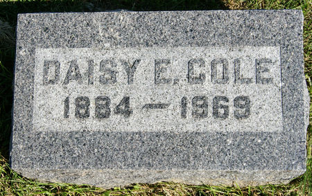 MOSS COLE, DAISY ELIZABETH - Taylor County, Iowa | DAISY ELIZABETH MOSS COLE