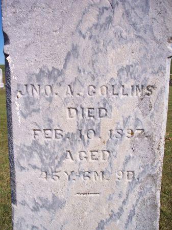 COLLINS, JNO A. - Taylor County, Iowa | JNO A. COLLINS