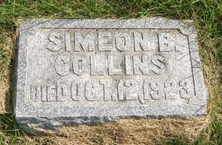 COLLINS, SIMEON BENJAMIN