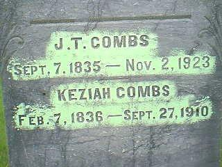 COMBS, KEZIAH - Taylor County, Iowa   KEZIAH COMBS