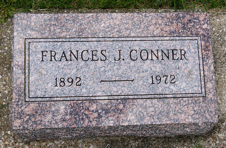CONNER, FRANCES J - Taylor County, Iowa   FRANCES J CONNER