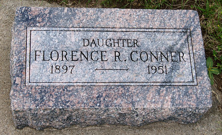 CONNER, FLORENCE ROSE - Taylor County, Iowa | FLORENCE ROSE CONNER