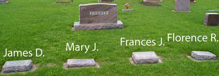 CONNER, JAMES D., FAMILY PLOT OF - Taylor County, Iowa | JAMES D., FAMILY PLOT OF CONNER