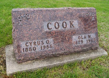 PHELPS COOK, OLA MAUDE - Taylor County, Iowa | OLA MAUDE PHELPS COOK
