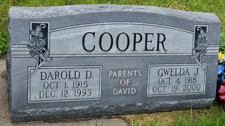 WHEELER COOPER, GWELDA JESSIE - Taylor County, Iowa | GWELDA JESSIE WHEELER COOPER