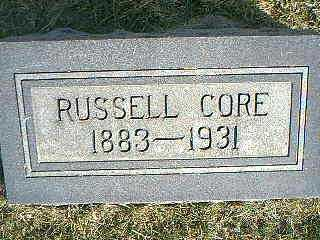 CORE, RUSSELL - Taylor County, Iowa | RUSSELL CORE