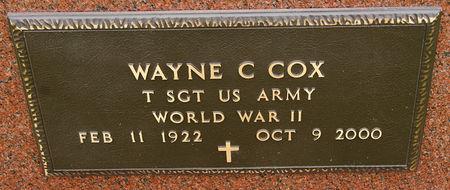COX, WAYNE CARL - Taylor County, Iowa | WAYNE CARL COX