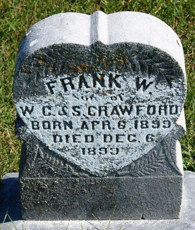 CRAWFORD, FRANK W. - Taylor County, Iowa | FRANK W. CRAWFORD