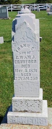 CRAWFORD, FRANK E. - Taylor County, Iowa | FRANK E. CRAWFORD