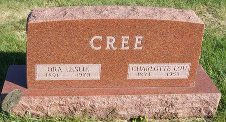 LEWIS CREE, CHARLOTTE LOU - Taylor County, Iowa | CHARLOTTE LOU LEWIS CREE