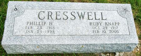 CRESSWELL, RUBY INEZ - Taylor County, Iowa | RUBY INEZ CRESSWELL