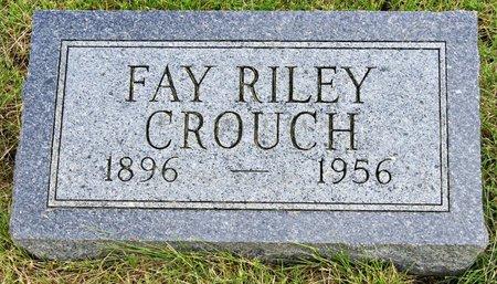 CROUCH, MARY FAY - Taylor County, Iowa | MARY FAY CROUCH