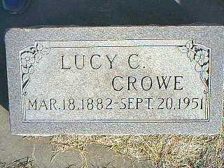 CROWE, LUCY C. - Taylor County, Iowa | LUCY C. CROWE