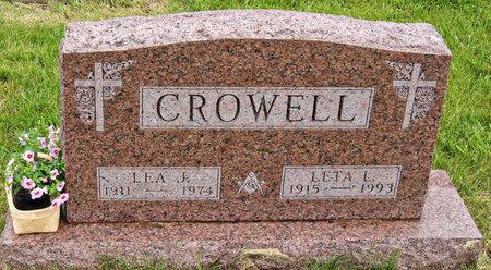 BOYER CROWELL, LETA LORENE - Taylor County, Iowa | LETA LORENE BOYER CROWELL
