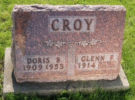 SNYDER CROY, DORIS BEATRICE - Taylor County, Iowa   DORIS BEATRICE SNYDER CROY