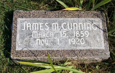 CUNNING, JAMES M. - Taylor County, Iowa | JAMES M. CUNNING