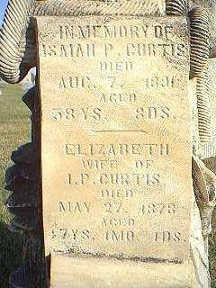 CURTIS, ELIZABETH - Taylor County, Iowa | ELIZABETH CURTIS