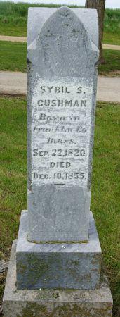 CUSHMAN, SYBIL - Taylor County, Iowa | SYBIL CUSHMAN