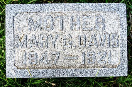 HARLAN DAVIS, MARY GEORGE - Taylor County, Iowa   MARY GEORGE HARLAN DAVIS