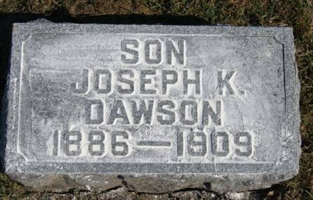 DAWSON, JOSEPH K. - Taylor County, Iowa | JOSEPH K. DAWSON