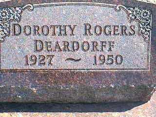 ROGERS DEARDORFF, DOROTHY - Taylor County, Iowa | DOROTHY ROGERS DEARDORFF