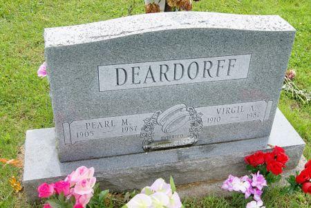 BOWER DEARDORFF, PEARL MAY - Taylor County, Iowa | PEARL MAY BOWER DEARDORFF