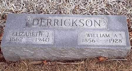 FULTON DERRICKSON, ELIZABETH J - Taylor County, Iowa | ELIZABETH J FULTON DERRICKSON