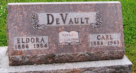 SCHRADTER DEVAULT, ELDORA - Taylor County, Iowa   ELDORA SCHRADTER DEVAULT