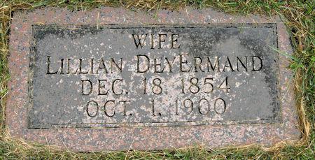 DEYERMAND, LILLIAN - Taylor County, Iowa   LILLIAN DEYERMAND