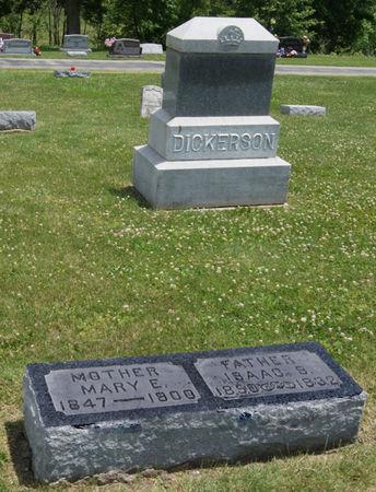 DICKERSON, ISAAC SANFORD, FAMILY PLOT OF - Taylor County, Iowa | ISAAC SANFORD, FAMILY PLOT OF DICKERSON