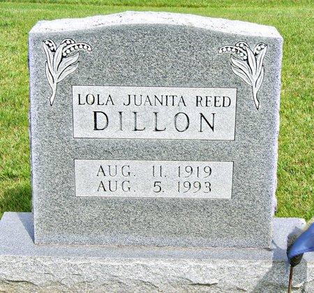 DILLON, LOLA JUANITA - Taylor County, Iowa | LOLA JUANITA DILLON