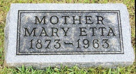 DRAPER, MARY ETTA - Taylor County, Iowa | MARY ETTA DRAPER