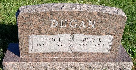 DUGAN, THEO LEOTA - Taylor County, Iowa   THEO LEOTA DUGAN