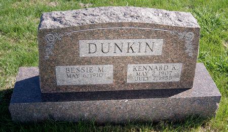 JOHNSON DUNKIN, BESSIE MAE - Taylor County, Iowa | BESSIE MAE JOHNSON DUNKIN