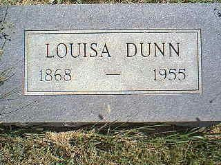 DUNN, LOUISA - Taylor County, Iowa | LOUISA DUNN