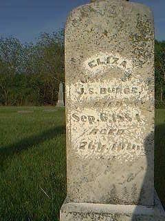 BURGE, ELIZA - Taylor County, Iowa | ELIZA BURGE