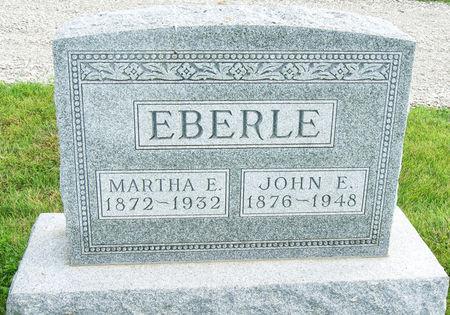 EBERLE, MARTHA ELIZABETH - Taylor County, Iowa | MARTHA ELIZABETH EBERLE