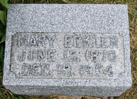 ARAM ECKLER, MARY - Taylor County, Iowa | MARY ARAM ECKLER
