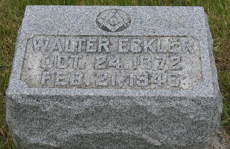 ECKLER, WALTER SHERMAN - Taylor County, Iowa | WALTER SHERMAN ECKLER