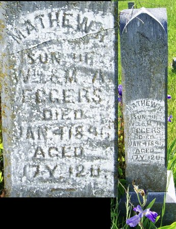 EGGERS, MATHEW R. - Taylor County, Iowa | MATHEW R. EGGERS