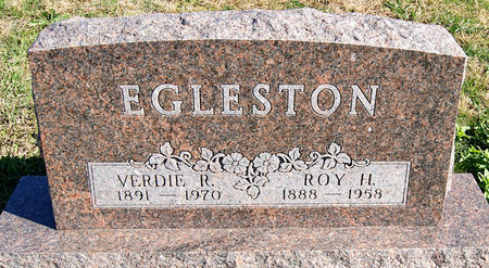 EGLESTON, VERDIA RUTH
