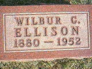 ELLISON, WILBUR - Taylor County, Iowa | WILBUR ELLISON