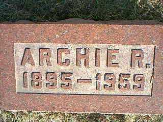 ELSE, ARCHIE R. - Taylor County, Iowa   ARCHIE R. ELSE