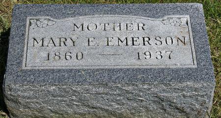 LEE EMERSON, MARY ELIZABETH - Taylor County, Iowa | MARY ELIZABETH LEE EMERSON