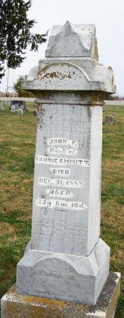 EMMITT, JOHN FRANKLIN - Taylor County, Iowa | JOHN FRANKLIN EMMITT