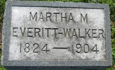 EVERITT-WALKER, MARTHA - Taylor County, Iowa | MARTHA EVERITT-WALKER